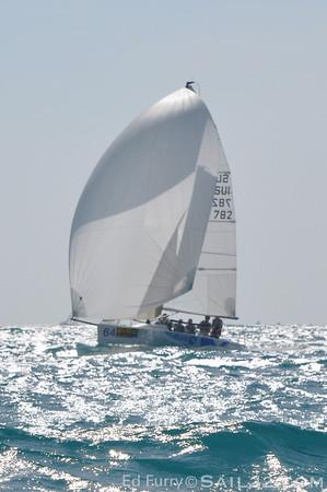 Key West Race Week 2010-Melges 24 Racing