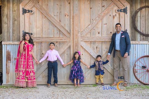 Anup & Sarah Family Photoshoot
