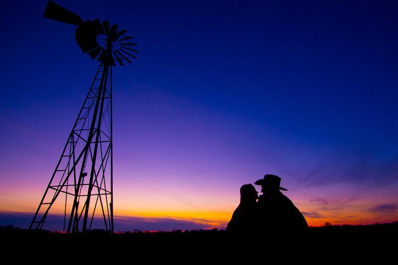 Rockford Windmill engagemnet