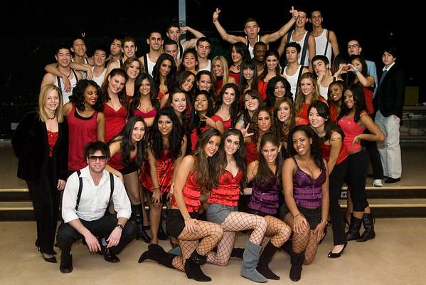 gns fashion show 2008 - backstage