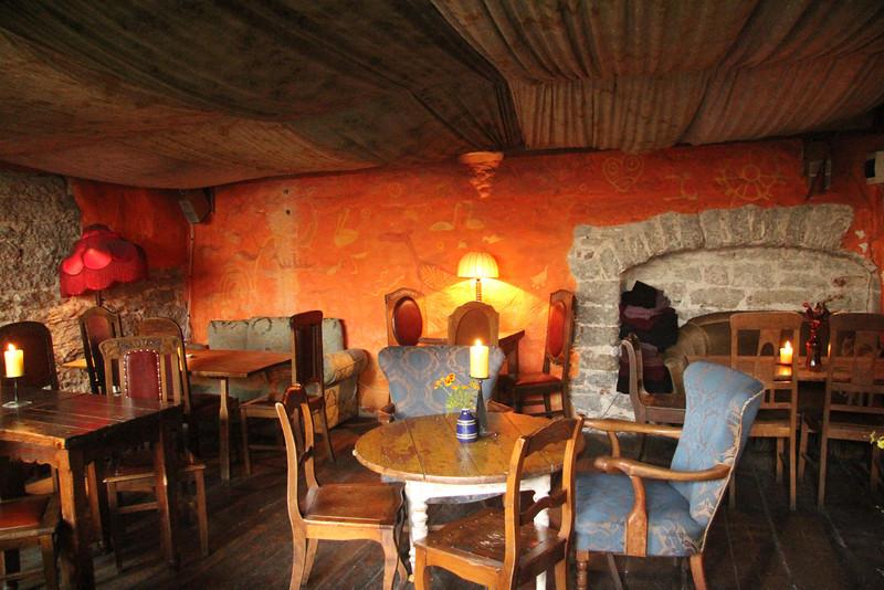 Kehrwieder Cafe, established 1697. -Tallinn, Estonia