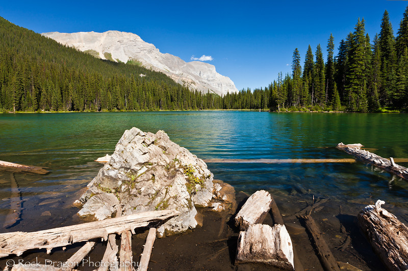Lilian Lake in Kananaskis Country Alberta.
