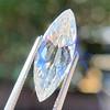 3.50ct Antique Marquise Cut Diamond, GIA K SI1 3