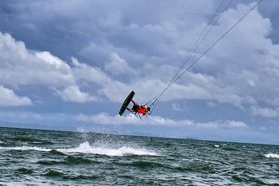 Kiteboarding in Chame, Panama 2018