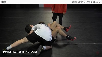 Counter to a sit out - Chin drop
