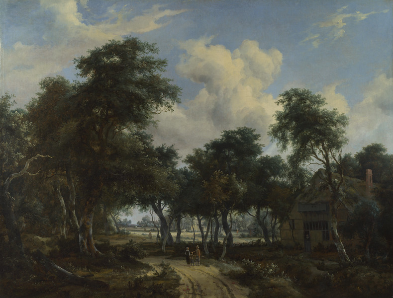 A Woody Landscape with a Cottage