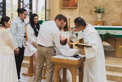 Austin's Birthday and Baptism
