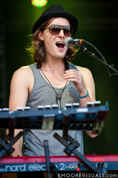 """Kit French of Parachute performs on November 12, 2011 during """"Orlando Calling 2011"""" at The Citrus Bowl in Orlando, Florida"""