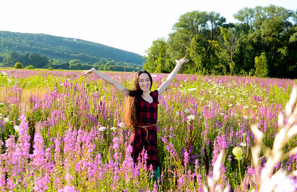 Nature and Flower Fields and Wild Foraging