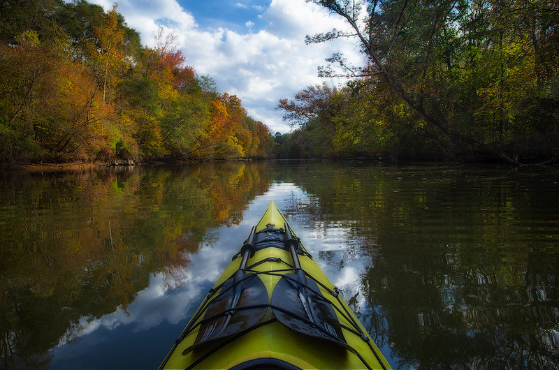 Flint Creek Fall reflections kayak web.jpg