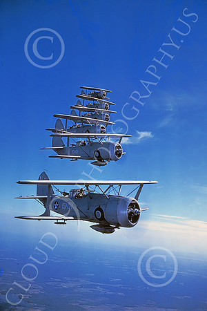 US Navy Curtiss SB3-C Helldiver Biplane Military Airplane Pictures