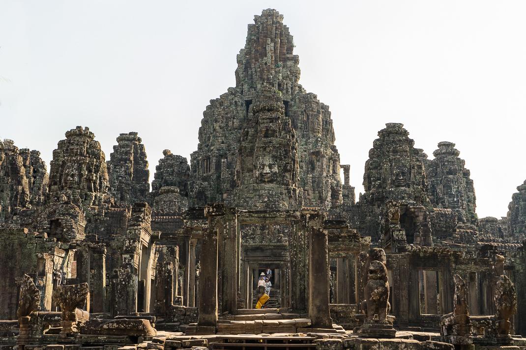Cambodian Ruins Bayon Temple