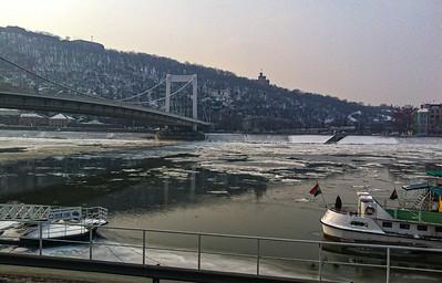 2012 Frozen Danube