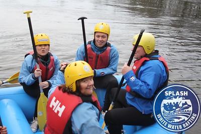 Splash White Water Rafting River Tay 2014