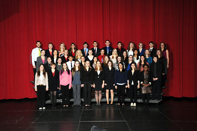 Speech and debate group photo