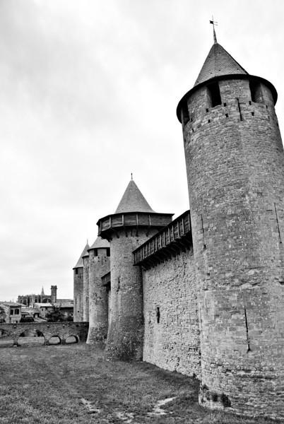 Carcassonne Cité Carcassonne, France — June 2009