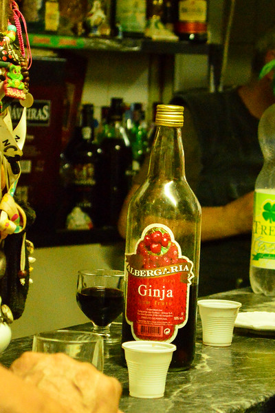 Lisbon is known for this strong sour cherry liquor - Ginga