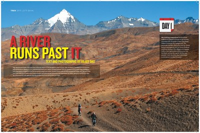 The Spiti Left Bank Trek - Outlook Traveller May 2012