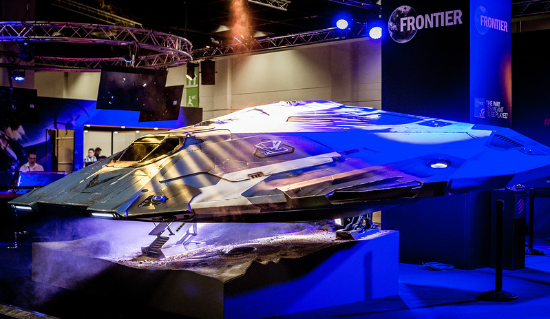 Cobra MKIII from Elite: Dangerous at Gamescom 2015