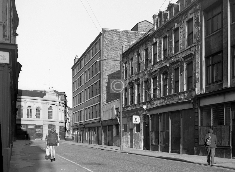 Wilson St, south side between Brunswick St and Candleriggs.    July 1973