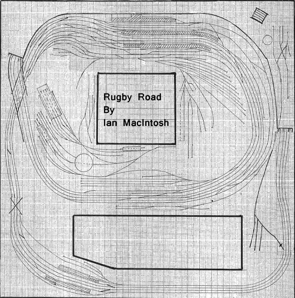 Rugby Road layout