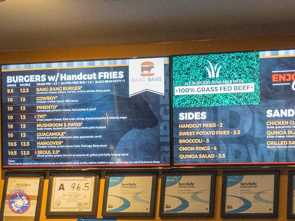 The Menu Board at Bang Bang Burgers (©simon@myeclecticimages.com)