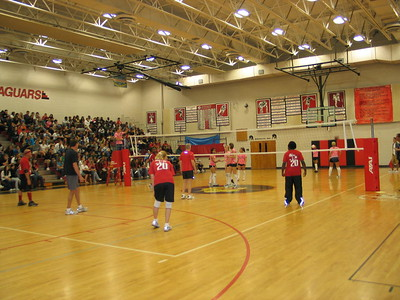 Student vs Faculty Volleyball 2009
