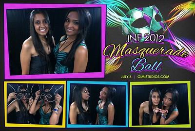 YJA 2012 | Day 2 (Evening) - JNF Masquerade Ball Photobooth