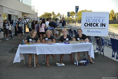 2009 Aggie Women's Huddle