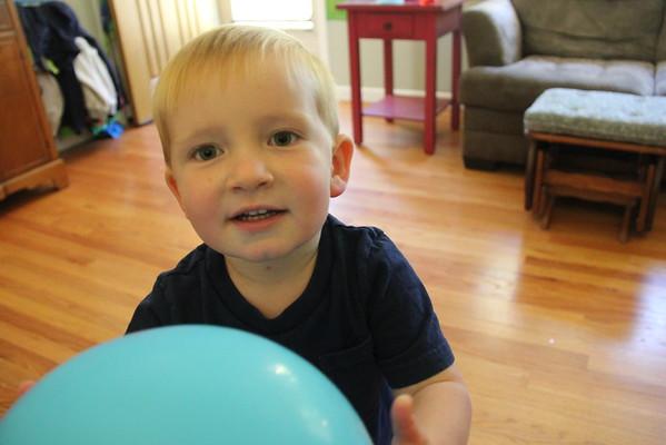 Ezra's Third Birthday Party