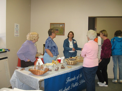 Book & Bake Sale 2006