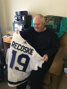WOLC - Community advocate and hockey fanatic  cheers on Toronto Maple Leafs