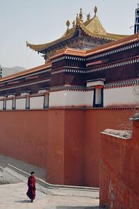 Labrang Monastery, Xiahe, Gannan Tibetan Autonomous Prefecture, Gansu