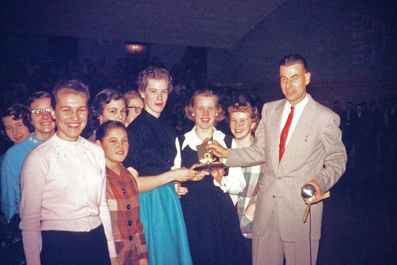 1957-02 - Girls Sectional Constellation Winners