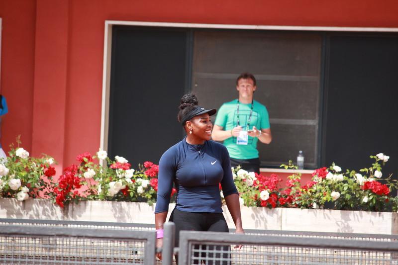 Serena smile