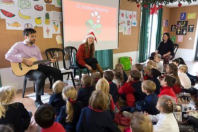 TASIS ES Sing-Along and Santa!
