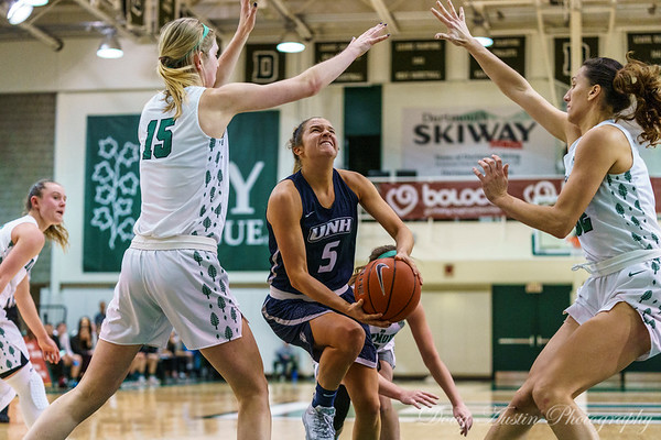 UNH vs Dartmouth Women's Basketball