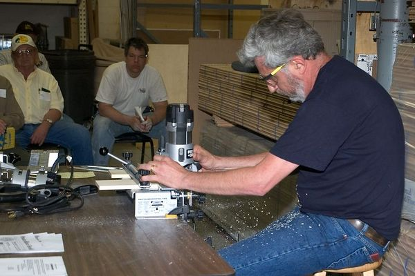 Woodworkers April 2005