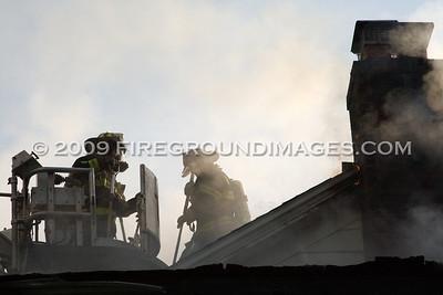 W McKinley Ave. Fire (Bridgeport, CT) 5/31/09