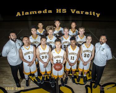 2017 Alameda High Basketball Varsity