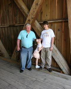 Cave Family at Cataract Falls