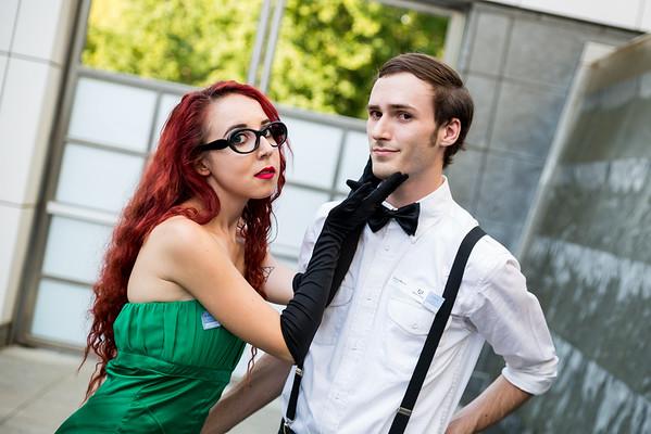 Poison Ivy & Bruce Wayne