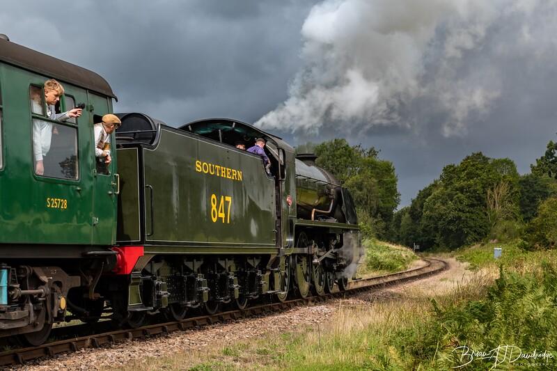 Southern Railway Maunsell S15-class 4-6-0 No.847