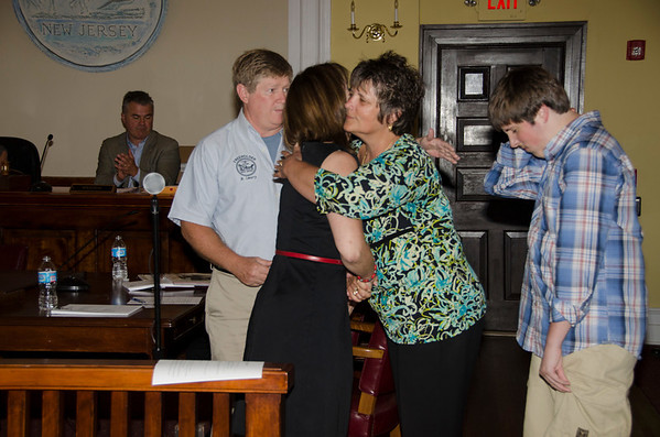 2013 Debbie Behnke Honored by Salem County