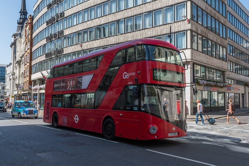 LTZ1458 New Routemaster for London