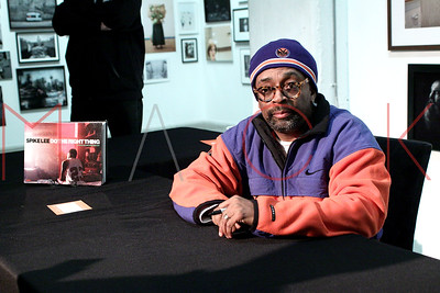 """New York, NY - December 16:  The book signing for """"Spike Lee: Do The Right Thing"""", New York, USA."""