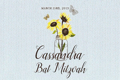 2019-03-23 Cassandra's Bat Mitzvah