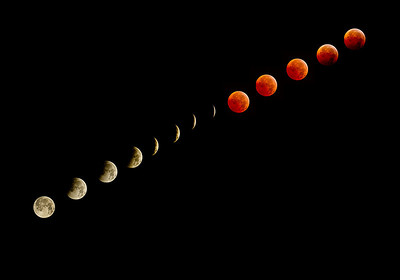 Eclipse of Moon - Dec 20, 2010