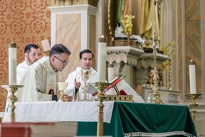 First Mass - Fr. Jaime Maldonado-Aviles