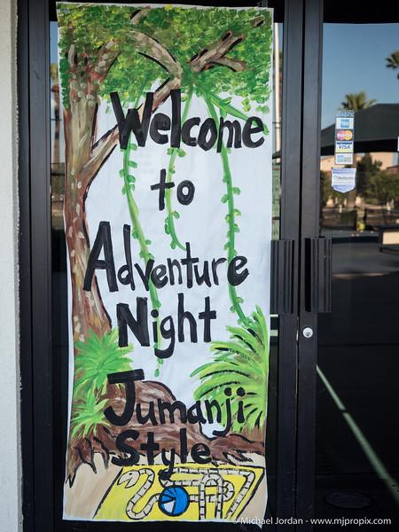 Adventure Night - Jumanji Style